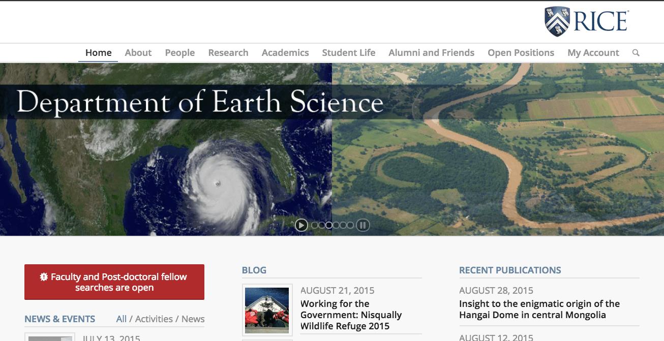 Earth Sciences