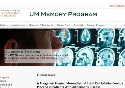 University Miami Memory