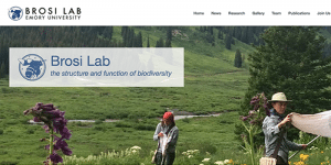 The Brosi Lab has a new website!