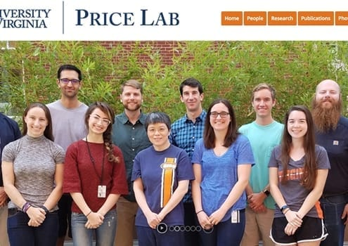 Price Lab, Biomedical Engineering at the University of Virginia