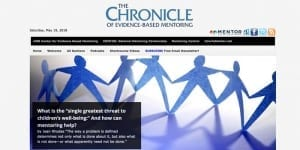 The Chronicle of Evidence-Based Mentoring Tops 10,000 followers!