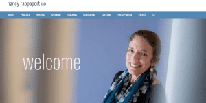 Nancy Rappaport has a new website!