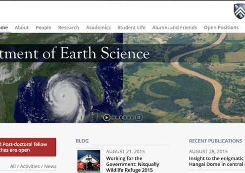 Rice University Dept. Earth Science