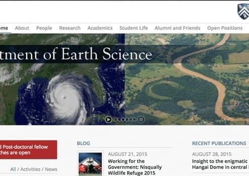Rice University Dept. Earth Science