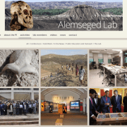 Alemseged Lab Activities page