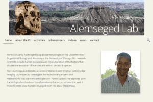 New Website for Zeray Alemseged, paleoanthropologist