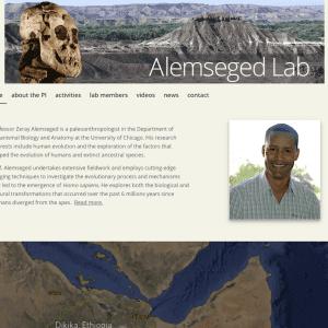 Alemseged Lab homepage