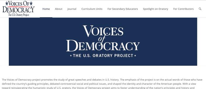 Voices of Democracy