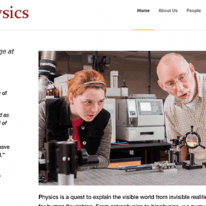 Indiana Wesleyan University Department of Physics
