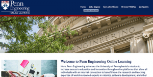 Penn Engineering Online Learning