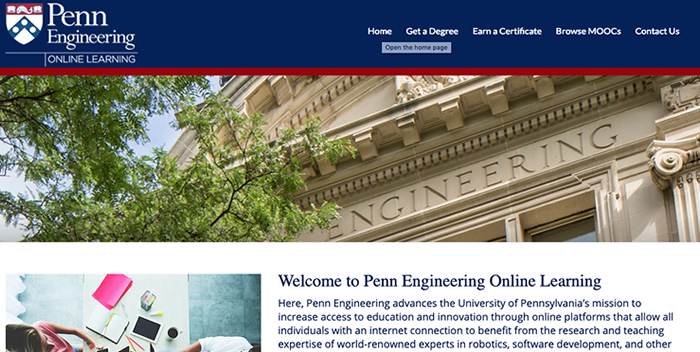 Penn Engineering Online Learning