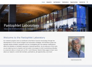 New website for Pantophlet Laboratory at Simon Fraser University
