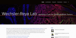 Wechsler-Reya Lab has a new website!
