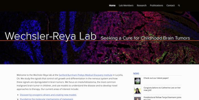 Wechsler-Reya-lab
