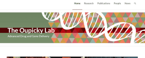 Oupicky Lab has a newly redesigned website!