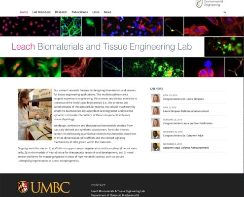 Leach Biomaterials & Tissue Engineering Lab