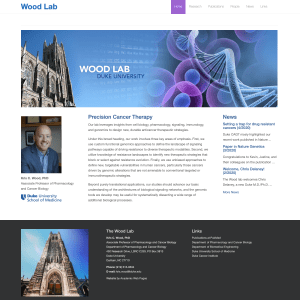 The Wood Lab at Duke University
