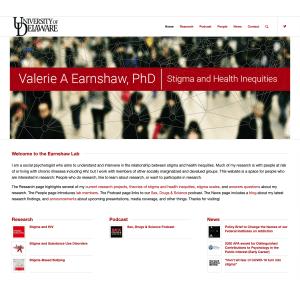 Valerie Earnshaw Website