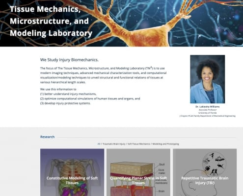The Tissue Mechanics, Microstructure, and Modeling Laboratory (TM3)