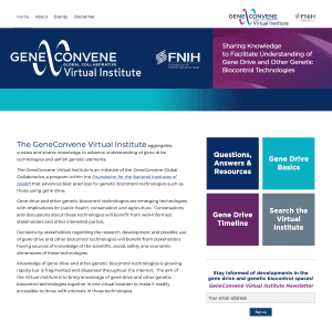 The GeneConvene Virtual Institute