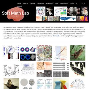 Soft Math Lab - Mahadevan - Harvard