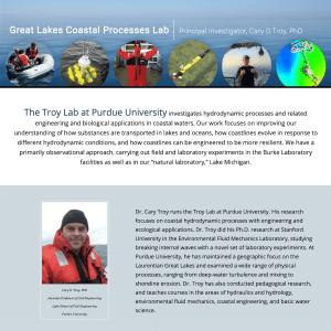 Great Lakes Coastal Prcesses Lab