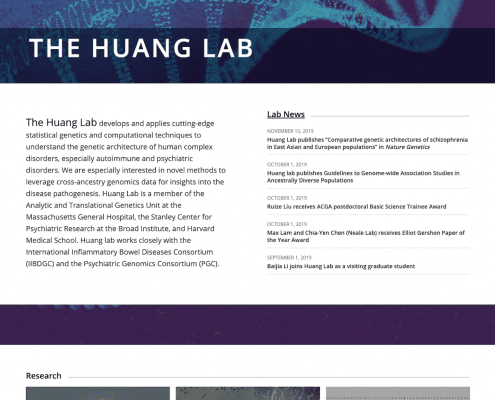The Huang Lab, Broad Institute