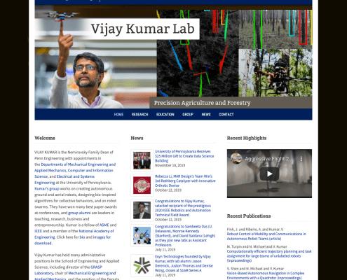 Vijay Kumar Lab