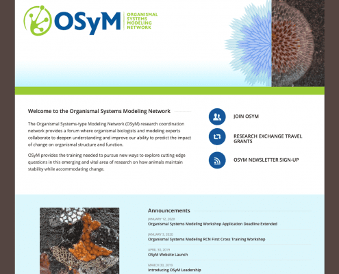 The Organismal Systems-type Modeling Network (OSyM)