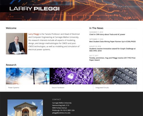 Larry Pileggi, CMU