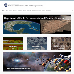 Rice University's Department of Earth, Environmental and Planetary Sciences